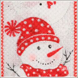 Chilly Red/White Snowmen