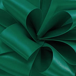 Forest Green Double Face Satin Ribbon