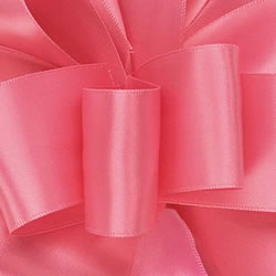 Hot Pink Double Face Satin Ribbon