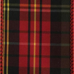 Red/Green Dixon, Plaid Wire Edge Ribbon