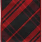 Black/Red Alvin, Wire Edge Plaid