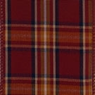 Beartooth Ruby Plaid Wire Edge Ribbon