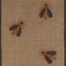 Natural Beehive, Wire Edge Burlap Ribbon