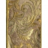 Gold Foliage Wire Edge Embossed