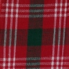 Red Plaid Garlene, Wire Edge Ribbon