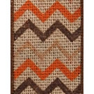 Multi Color Glide Chevron Burlap