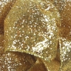 Gold Party Time Wire Edge Glitter Ribbon