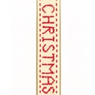 Ivory Jolly Xmas Merry Christmas Ribbon