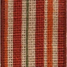 Multi Cynnie Stripe Wire Edge Burlap