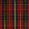 Red Plaid Norwood, Wire Edge Ribbon